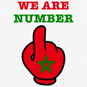 MOROCCO MAROKKO MAROC المغرب WE ARE NR 1 - Männer T-Shirt atmungsaktiv