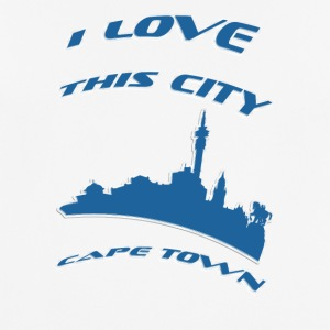 Cape town I love this city - Men's Breathable T-Shirt