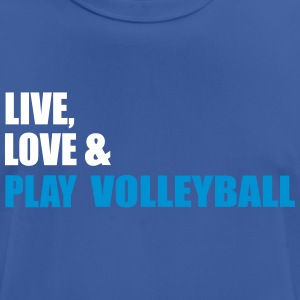 volleybal - mannen T-shirt ademend
