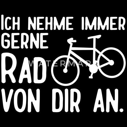 Lustige Radfahrer Fahrrad Sprüche Männer Sport T Shirt | Spreadshirt