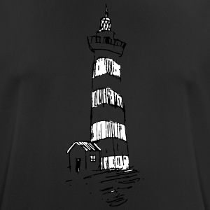 Lighthouse on the hill - Men's Breathable T-Shirt
