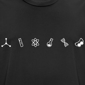 Science Symbols - Men's Breathable T-Shirt