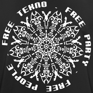 free tekno free party free people - Männer T-Shirt atmungsaktiv