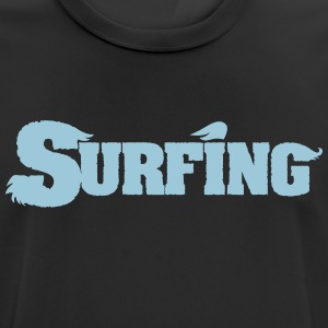 Surfing Vectordesign Surf - Men's Breathable T-Shirt