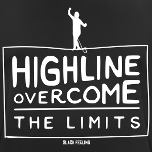 Highline - Overcome the Limits - Men's Breathable T-Shirt