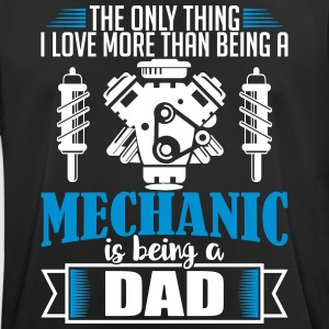 Mechanic Dad - funny fathers day - Men's Breathable T-Shirt