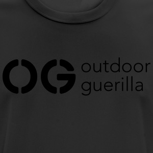 outdoor guerilla - Men's Breathable T-Shirt