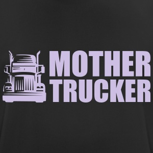 Mother Trucker - Pustende T-skjorte for menn