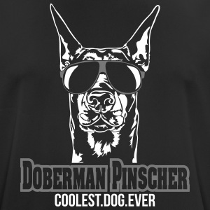 DOBERMAN PINSCHER coolest dog - Men's Breathable T-Shirt