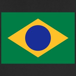 National Flag Of Brazil - Herre T-shirt svedtransporterende