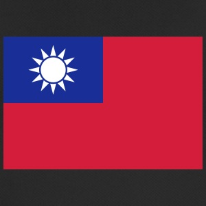 National Flag Of Taiwan - Andningsaktiv T-shirt herr