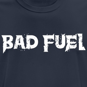 Bad Fuel logo - Andningsaktiv T-shirt herr