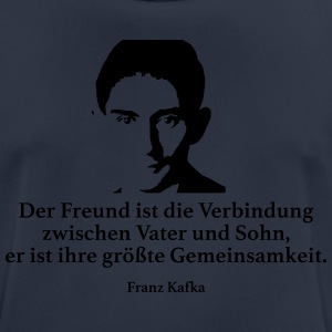 Kafka: The friend is the connection between Vat - Men's Breathable T-Shirt