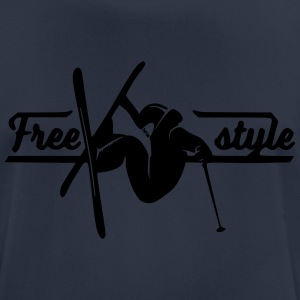 Freestyle Skiing - Men's Breathable T-Shirt