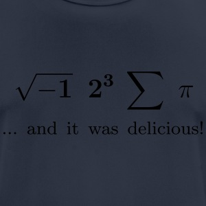 I ate some pie ... and it was delicious! - Männer T-Shirt atmungsaktiv
