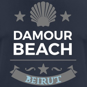 Damour Beach - Pustende T-skjorte for menn