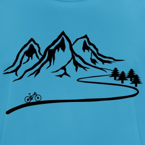 Mountainbike Trail - Männer T-Shirt atmungsaktiv