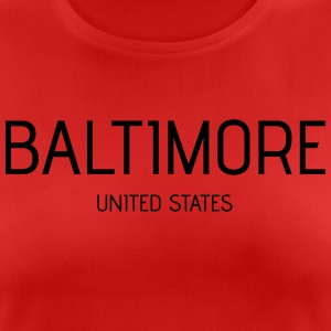 Baltimore - Women's Breathable T-Shirt