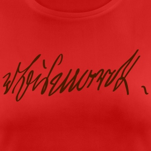 Otto von Bismarck Signature - Women's Breathable T-Shirt