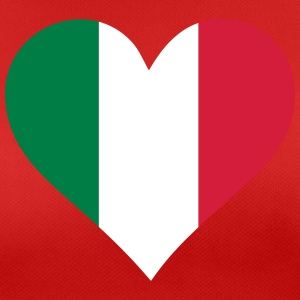 A Heart For Italy - Women's Breathable T-Shirt
