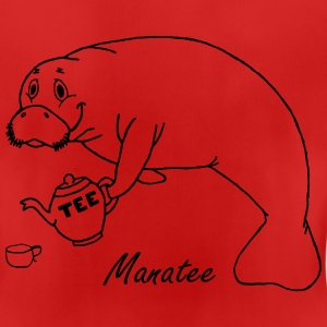 Manatee likes tea - Women's Breathable T-Shirt