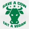 SAVE A COW - EAT A VEGETARIAN! - Women's Breathable T-Shirt