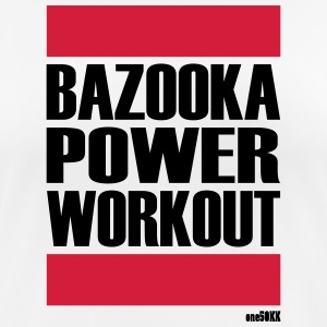 BAZOOKA POWER WORKOUT - Pustende T-skjorte for kvinner