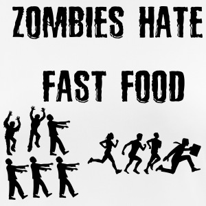 Zombies hate Fast Food - Frauen T-Shirt atmungsaktiv