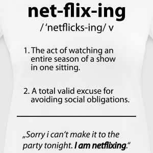 Netflix / Netflixing - Women's Breathable T-Shirt