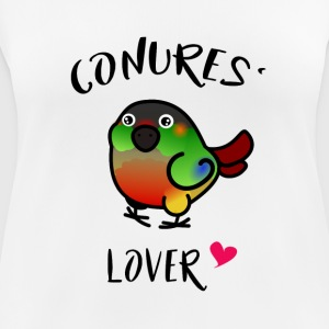 Amante conures': opalina - Camiseta mujer transpirable