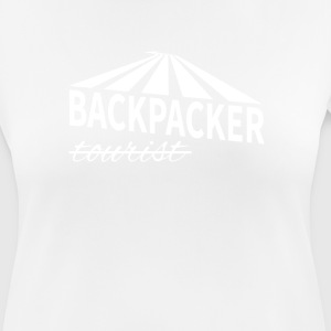 Backpacker - ikke turist - Dame T-shirt svedtransporterende