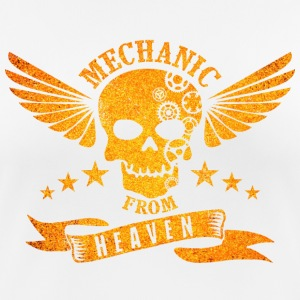 Mechanic From Heaven - vrouwen T-shirt ademend