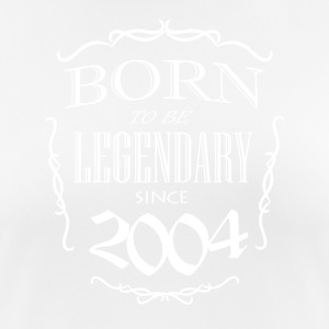 Born to be Legendary since 2004 - Women's Breathable T-Shirt