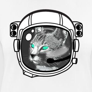 kosmonaut_katze Astronaut all above ground hipster - Women's Breathable T-Shirt