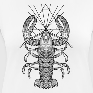 Geometric Lobster - Frauen T-Shirt atmungsaktiv