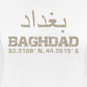 Baghdad iraq, coordinates T-Shirt arabic - Women's Breathable T-Shirt