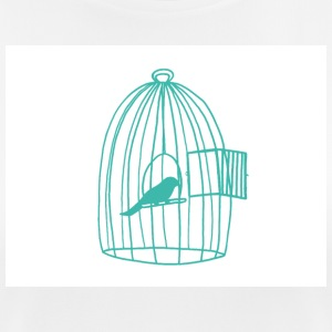 Caged Bird - Women's Breathable T-Shirt