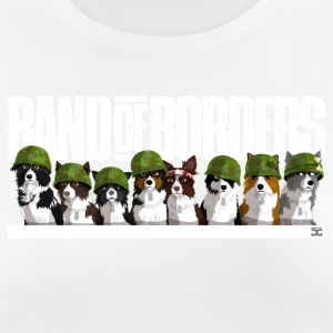 Band Of Borders (weiß) - Frauen T-Shirt atmungsaktiv