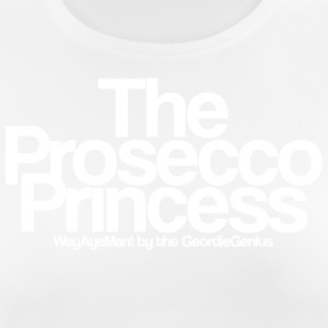 Prosecco Princess tee by the Geordie Genius - Women's Breathable T-Shirt