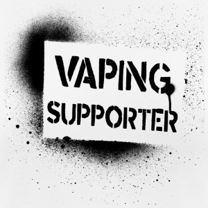 vaping supporter - stoom stoom stoomboot Vape On - vrouwen T-shirt ademend