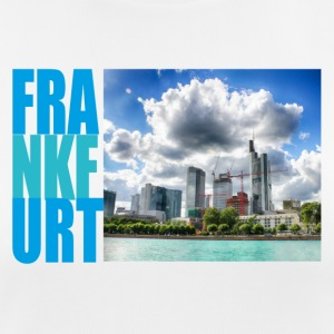 Frankfurt am Main, Skyline - Dame T-shirt svedtransporterende