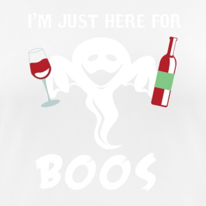 Funny Halloween IM Just Here For The Boos Tee - Women's Breathable T-Shirt