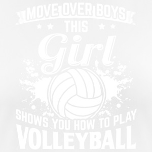 Volleyball MOVEOVER - Women's Breathable T-Shirt
