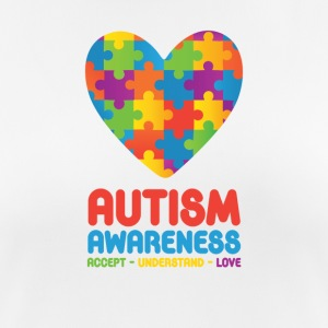 Autism Awareness - Pustende T-skjorte for kvinner