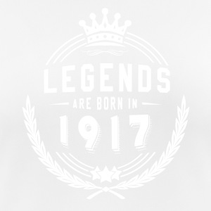 Legends Shirt - Legends are born in 1917 - Women's Breathable T-Shirt