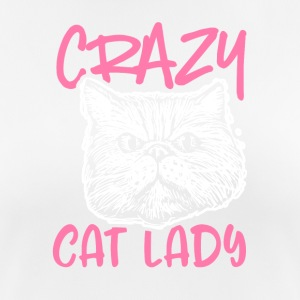 Crazy Cat Lady - Frauen T-Shirt atmungsaktiv