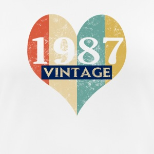 Vintage 1987 Retro - Women's Breathable T-Shirt
