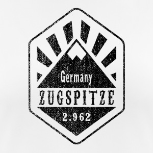 Zugspitze Germany - Used Look - Frauen T-Shirt atmungsaktiv
