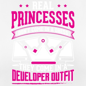 REAL PRINCESSES developer - Frauen T-Shirt atmungsaktiv