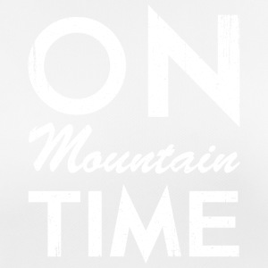 On Mountain Time - Women's Breathable T-Shirt